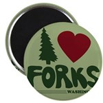 I Heart Forks, WA - Twilight Magnet