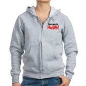 See You In Health! Women's Zip Hoodie