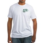 Fitted T-Shirt : Sizes Small,Medium,Large,X-Large,2X-Large  Available colors: White