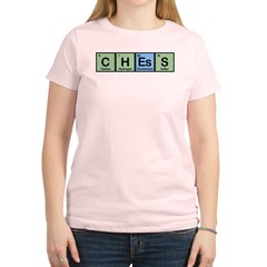 Chess made of Elements Women's Light T-Shirt