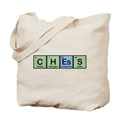 Chess made of Elements Tote Bag