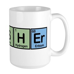 Fisher made of Elements Large Mug