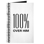 100 Percent Over Him Journal