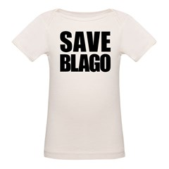 Save Illinois Governor Blagojevich, he's innocent! Organic Baby T-Shirt