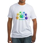 Rainbow Amsterdam Fitted T-Shirt