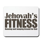 Jehovah's Fitness Mousepad