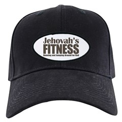 Jehovah's Fitness Black Cap