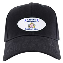 Cooties Awareness Black Cap