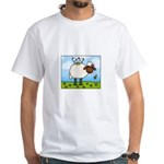 Spring Sheep White T-Shirt