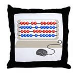QWERTY B.C. Throw Pillow