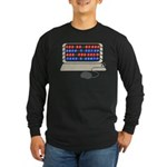QWERTY B.C. Long Sleeve Dark T-Shirt
