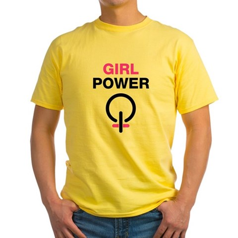 Girl Power Yellow T-Shirt