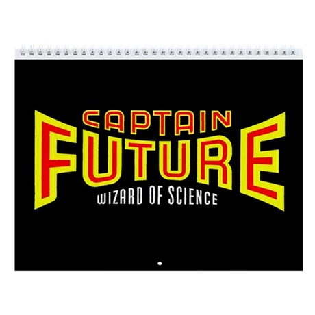 Classic Captain Future 2011 12-Month Calendar