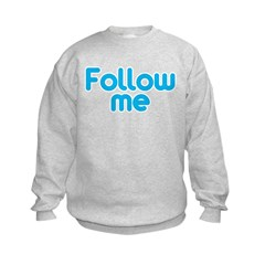 Follow Me Kids Sweatshirt