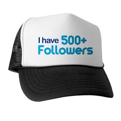 I Have 500+ Followers Trucker Hat