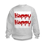 Happy Happy Joy Joy Kids Sweatshirt