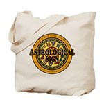 Astrological Sign Tote Bag