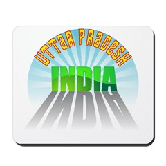 Uttar Pradesh India Mousepad