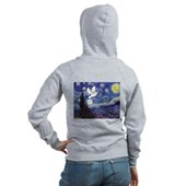 Starry Dove Women's Zip Hoodie