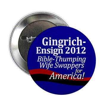 Gingrich-Ensign 2012 2.25 inch Button