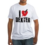 I Heart Dexter *Showtime* Fitted T-Shirt
