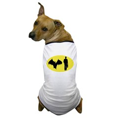 Bat Man Dog T-Shirt