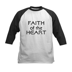 Faith of the Heart Kids Baseball Jersey