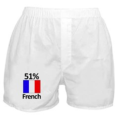 51% French Boxer Shorts