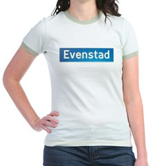 Evenstad Norway Jr. Ringer T-Shirt