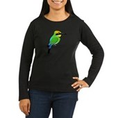 Rainbow Bee-eater Women's Long Sleeve Dark T-Shirt