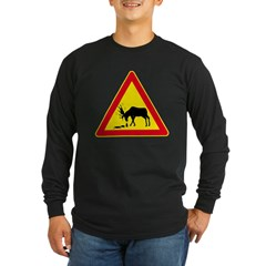 Long Sleeve Dark Drunk Moose from Metal From Finland Shop