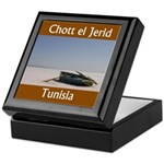 Chott el Jerid, Tunisia Keepsake Box