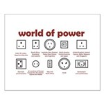 World of Power Small Poster