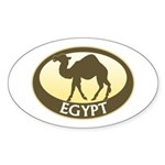 Egyptian Camel Sticker (Oval)