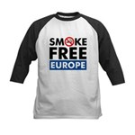 Smoke Free Europe Kids Baseball Jersey