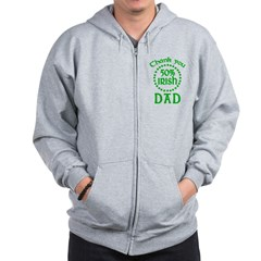 50% Irish - Thank You Dad Zip Hoodie