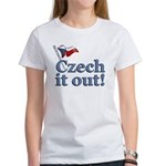 Czech It Out Women's T-Shirt