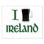 I Love Ireland (beer) Small Poster