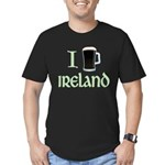 I Love Ireland (beer) Men's Fitted T-Shirt (dark)