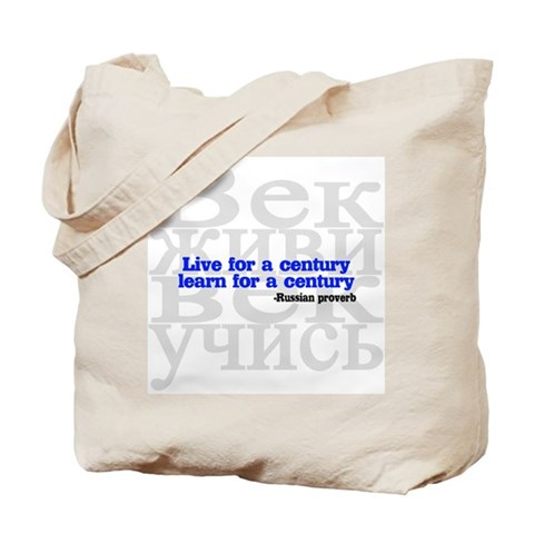 Learn for a Century Tote Bag