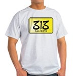 313 License Plate Light T-Shirt