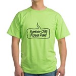 Number One Rosa Fan Green T-Shirt