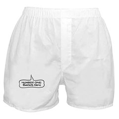 Number One Barks Fan Boxer Shorts
