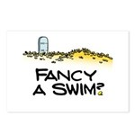 Fancy a Swim? Postcards (Package of 8)