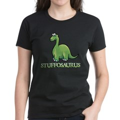 Stuffosaurus Logo Women's Dark T-Shirt