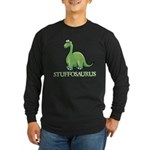 Stuffosaurus Logo Long Sleeve Dark T-Shirt