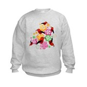  Hawaiian-style 'I'iwi Kids Sweatshirt