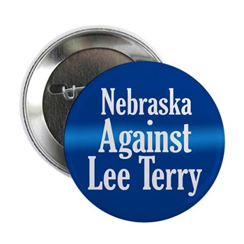 Nebraska Against Lee Terry Button
