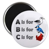 B is for Birdorable Magnet