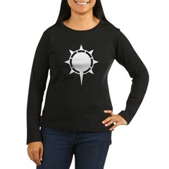Women's Long Sleeve Dark Morning Sun from Metal From Finland Shop